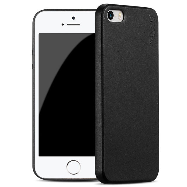 premium selection 44da1 4029d US $9.59 |X LEVEL Cover for iPhone 5s 5 SE Case Plain Matte TPU Soft Case  for iPhone SE 5s 5 Cover iPhnoe5 Phone Shell Coque Fundas-in Fitted Cases  ...