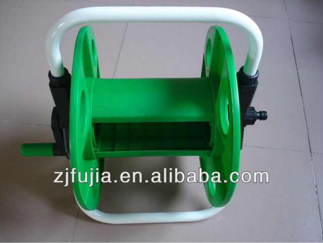 plastic empty hose reel for garden watering use