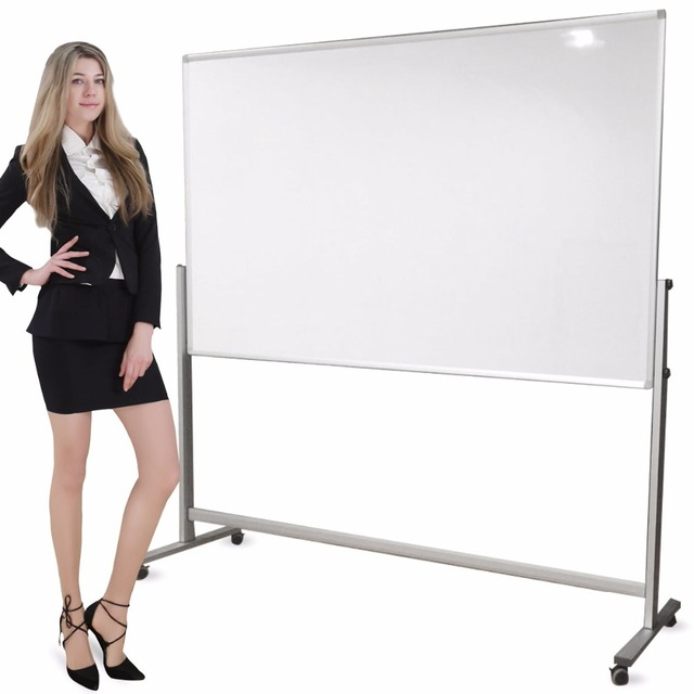 Us 219 0 Zhidian Office White Boad Dry Erase Boards 32 40 Mobile Double Sided Magnetic Stand Easel 2 Marker Color Magnet 4 Eraser 1 Incl On