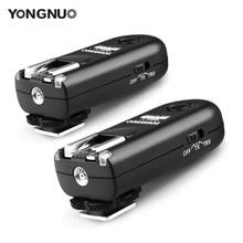 Déclencheur de Flash YONGNUO RF 603 II 2 émetteurs récepteurs pour Canon RF 603 II C1 C3
