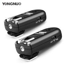 YONGNUO RF 603 השני פלאש טריגר 2 משדרים סט שחרור תריס עבור Canon RF 603 השני C1 C3