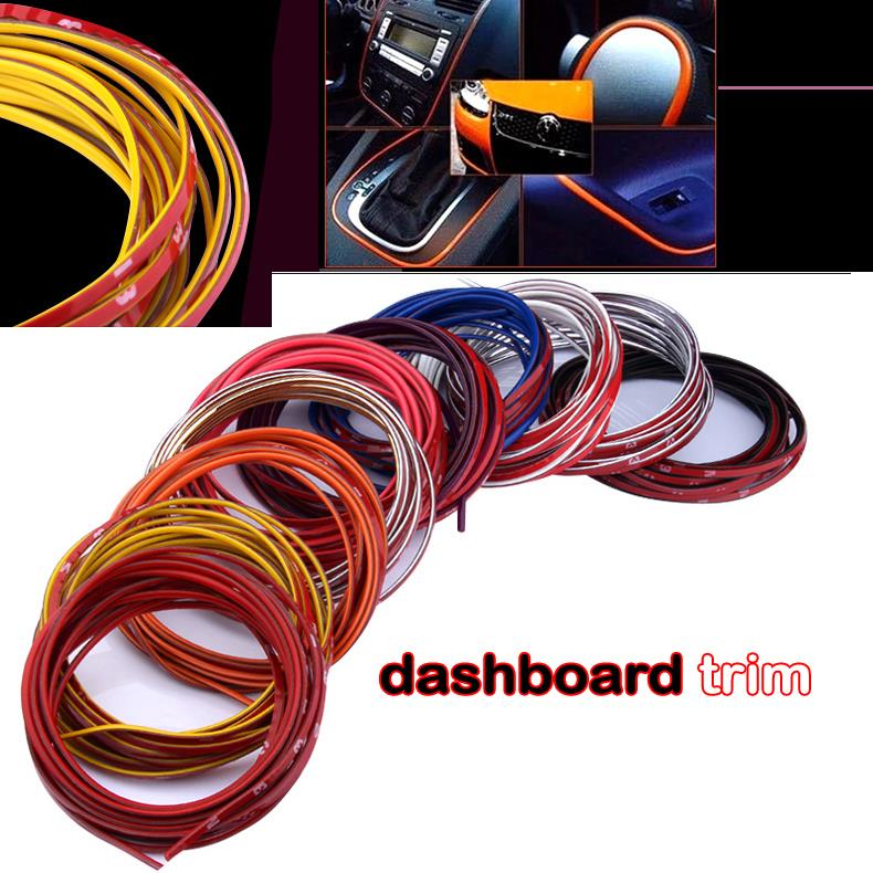 3meter Car Styling Indoor наклейки на авто Car Accessories Exterior Body Modify Decal Auto Car Sticker Decoration Strip Thread