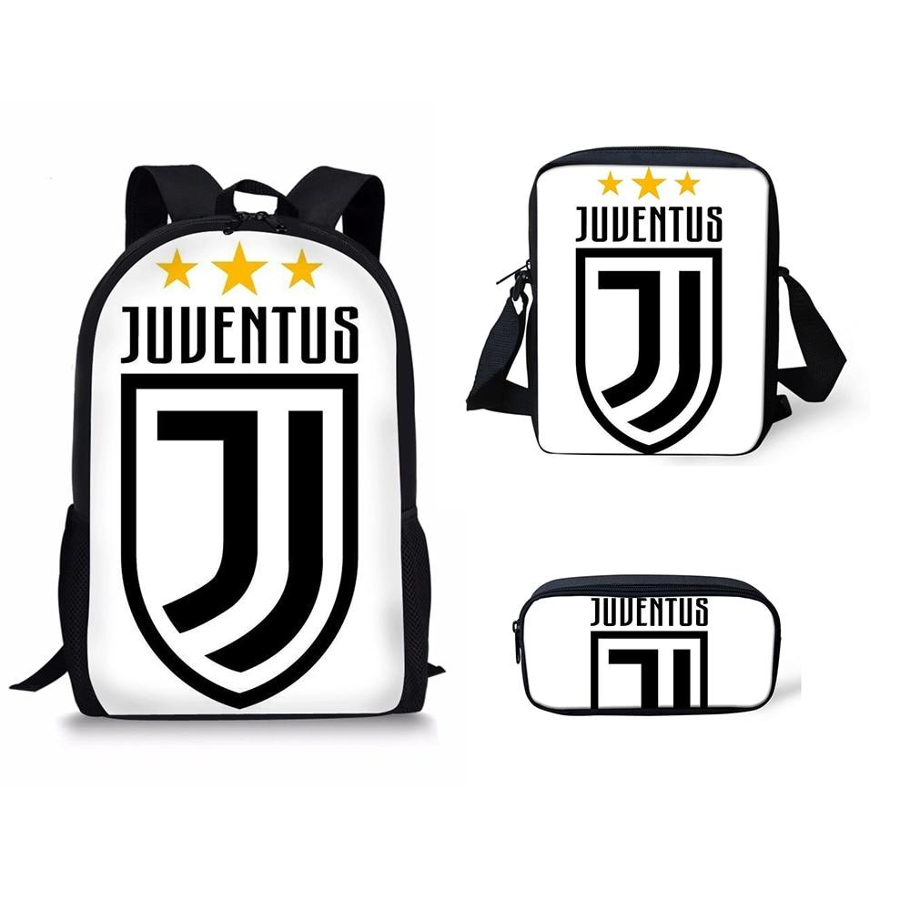 Noisydesigns Juventus Printed Travel Backpack Cristiano Ronaldo Name Design  Casual Laptop Softpack Bagpack Knapsack School Bags ad13ca3736e8a