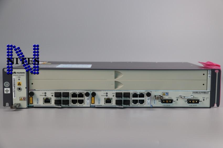 Fiber Optic Equipments Original Hua Wei 19inch Olt Ma5608t With 2*10ge Control Board Mcud1+1*mpwc Dc Power Board support Gpfd,gpbd