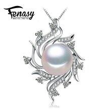 FENASY цветок ожерелья & подвески Ювелирные Изделия Перлы рождественский подарок богемского ожерелье женщины изящных ювелирных изделий, с коробкой