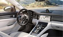 10PCS/SET Carbon Fiber Car interior Cover For 17 18 Porsche Panamera 2017 2018 Add Fit Left Hand Driving