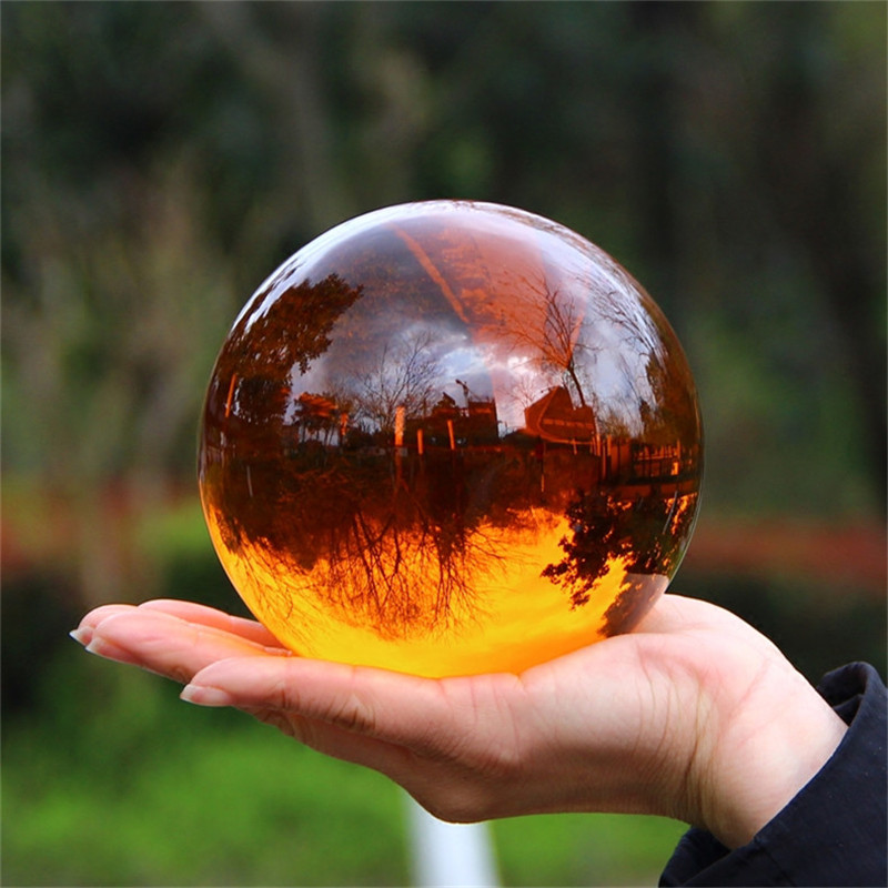 Multicolor Crystal Ball Asian Rare Natural Magic Beads Healing Sphere Globe Quartz Photography Balls Crystal Craft Decor