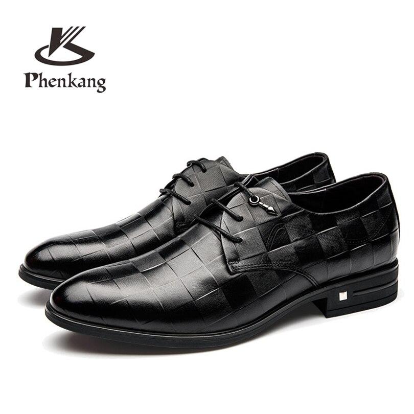 حقيقية جلد البقر البروغ حذاء أيرلندي الزفاف أحذية رجالي عارضة الشقق أحذية خمر اليدوية أكسفورد أحذية للرجال أسود 2019 الربيع-في أحذية رسمية من أحذية على  مجموعة 1