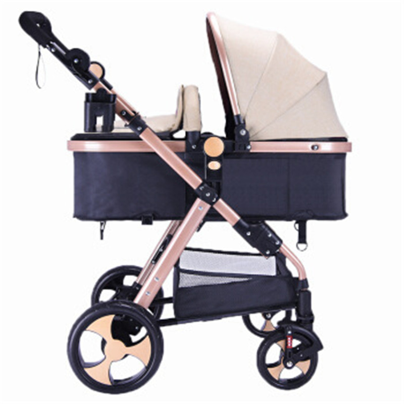 Ultra-light baby stroller can sit reclining folding shock absorbers can be on the plane baby stroller free inflatable Ultra-light baby stroller can sit reclining folding shock absorbers can be on the plane baby stroller free inflatable