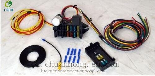 aliexpress com buy cnch 8 circuit universal wire harness muscle cnch 8 circuit universal wire harness muscle car hot rod street rod rat rod new