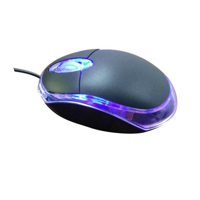 Hiperdeal Peripheral Komputer Laptop Mouse Komputer Mini Gaming Mouse Mouse Komputer Tangan Permainan Mouse Gamer Au6