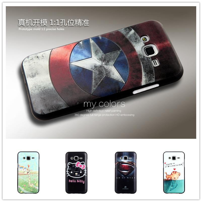 Fashion Lovely 3D Pattern Sculpture TPU Cases Luxury Silicone Phone Case For Samsung Galaxy J5 J500