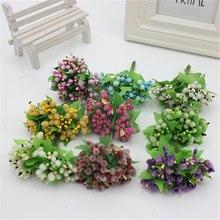 Имитация венка материал жемчуг ягоды фрукты украшены сахарный тростник шляпа 1 букет 12 цветов