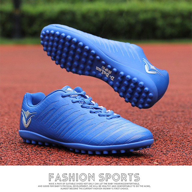 5299c8a74 Professional Indoor Soccer Shoes Men TF Turf Soles Football Boots Training  Sneakers Sports Soccer Cleats Soccer Boot Wholesale