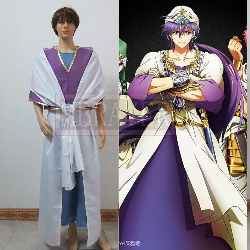 Anime MAGI Sinbad Cosplay Costum custom made-in Anime