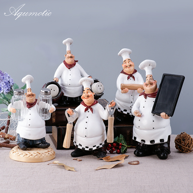 Aqumotic Multifunctio Fat Chef Decor Creative Party Chef Decorations ...