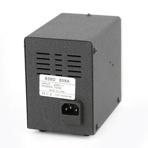 Image 5 - 700W 858D הלחמה תחנת LED דיגיטלי הלחמה ברזל הסרת הלחמה תחנת BGA עיבוד חוזר הלחמה תחנת אוויר חם אקדח