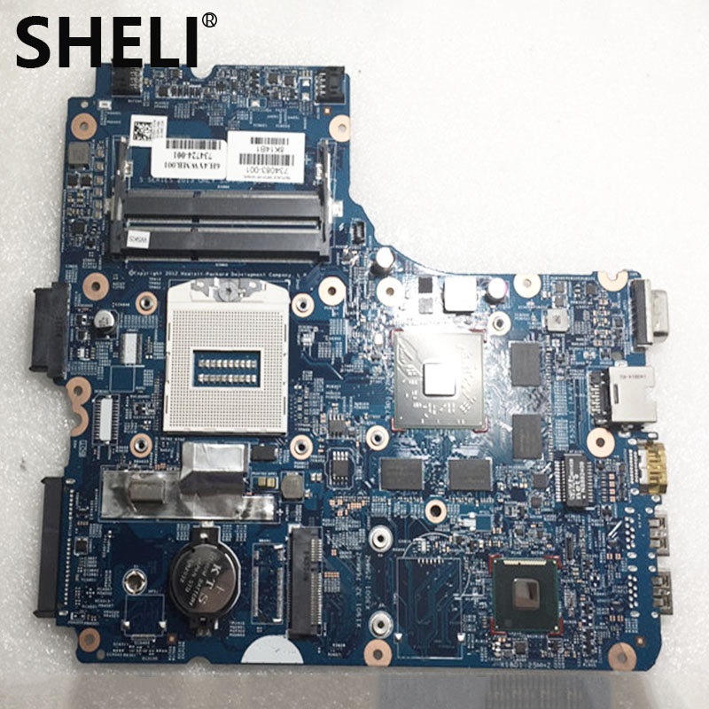SHELI  For HP 450 G1 440 G1 Laptop Motherboard 734083-001 734083-501 BRAND NEW