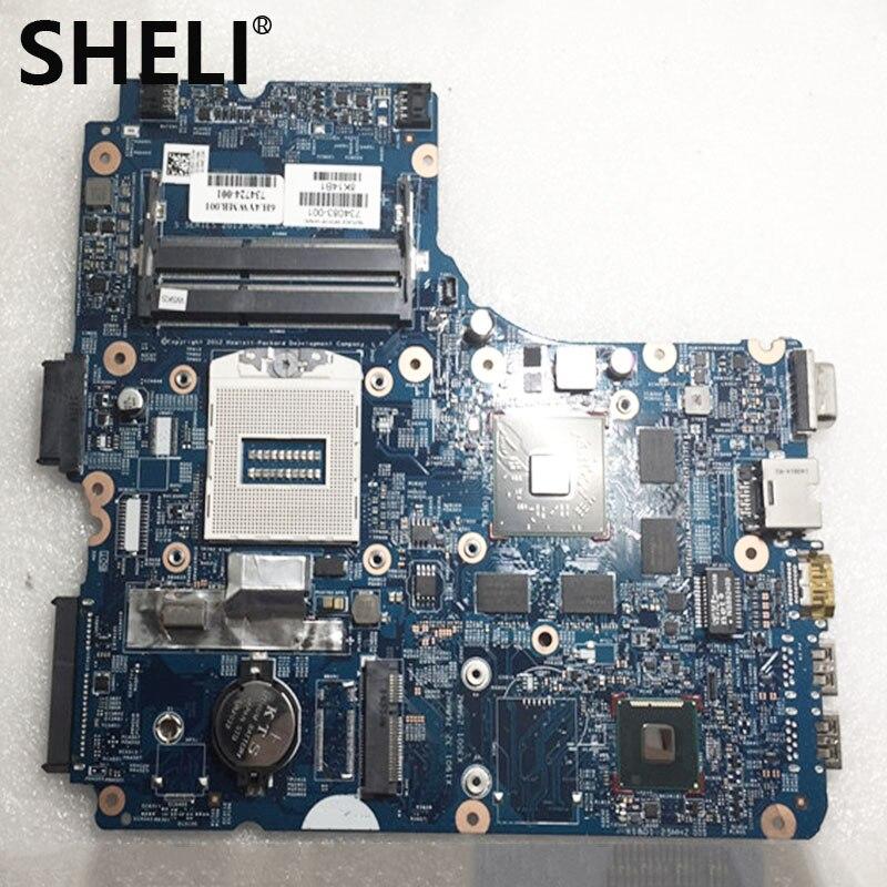 SHELI  For HP 450 G1 440 G1 Laptop Motherboard 734083-001 734083-501 BRAND NEW