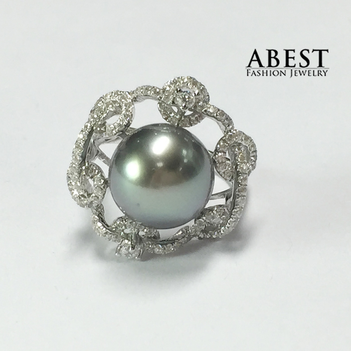 Online Buy Wholesale tahitian pearl engagement ring from ...