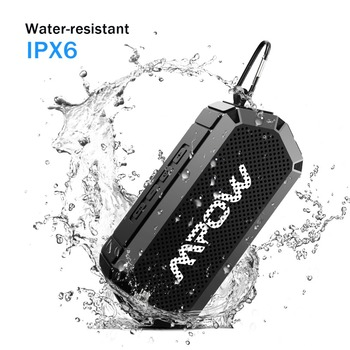 Mpow R3 Bluetooth V4.2 Speakers Portable Wireless Outdoor Speaker 15H Playing Time HD Stereo Sound IPX6 Waterproof For Phone PC