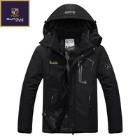 Winter New Jacket Male Female Waterproof Windproof Jacket Plus Thick Velvet Casual Warm Coat Jacket Size