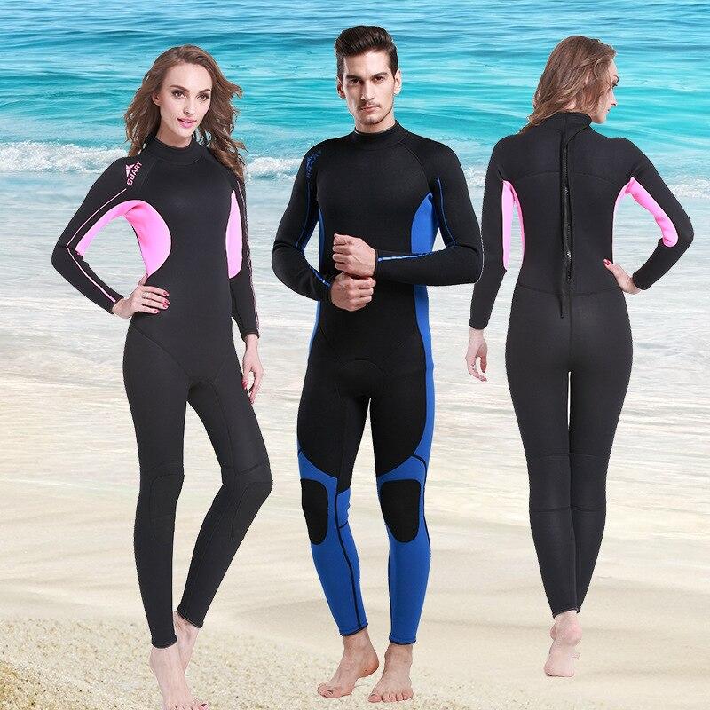 ФОТО Sbart  3MM One Piece Swimwear Tight Wetsuit Diving Bathing Suit Swimsuit Long Sleeve Fitness Sport Suit Women
