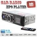 O Envio gratuito de Nova chegada De Áudio Estéreo Do Carro In-Dash MP3 Player Rádio FM USB SD AUX Receiver entrada BINB nova