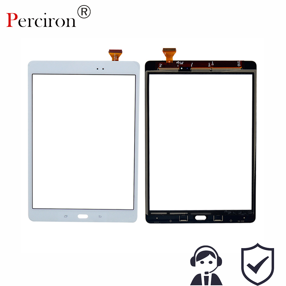New 9.7 For Samsung Galaxy Tab A 9.7 SM-T550 SM-T551 SM-T555 T550 T551 T555 Touch Screen Digitizer Sensor Glass Lens Panel for samsung galaxy tab a 9 7 t550 t555 sm t550 sm t551 case folding flip stand pu leather cover shell stand case film pen