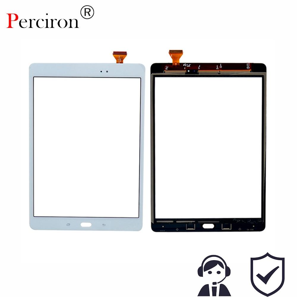 New 9.7 For Samsung Galaxy Tab A 9.7 SM-T550 SM-T551 SM-T555 T550 T551 T555 Touch Screen Digitizer Sensor Glass Lens Panel black 10 1 for samsung galaxy tab pro 10 1 t520 t525 sm t520 touch screen digitizer sensor tablet pc repairment parts