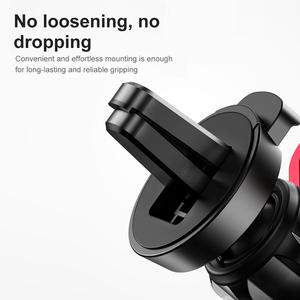 Image 5 - Baseus Gravity Car Holder For Phone in Car Air Vent Clip Mount Stand Universal Car Phone Holder for iPhone Samsung Phone Bracket