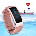 Impermeable monitor de ritmo cardíaco banda de natación gimnasio rastreador inteligente pulsera bluetooth pulsera para android ios pk fitbits mi banda 2