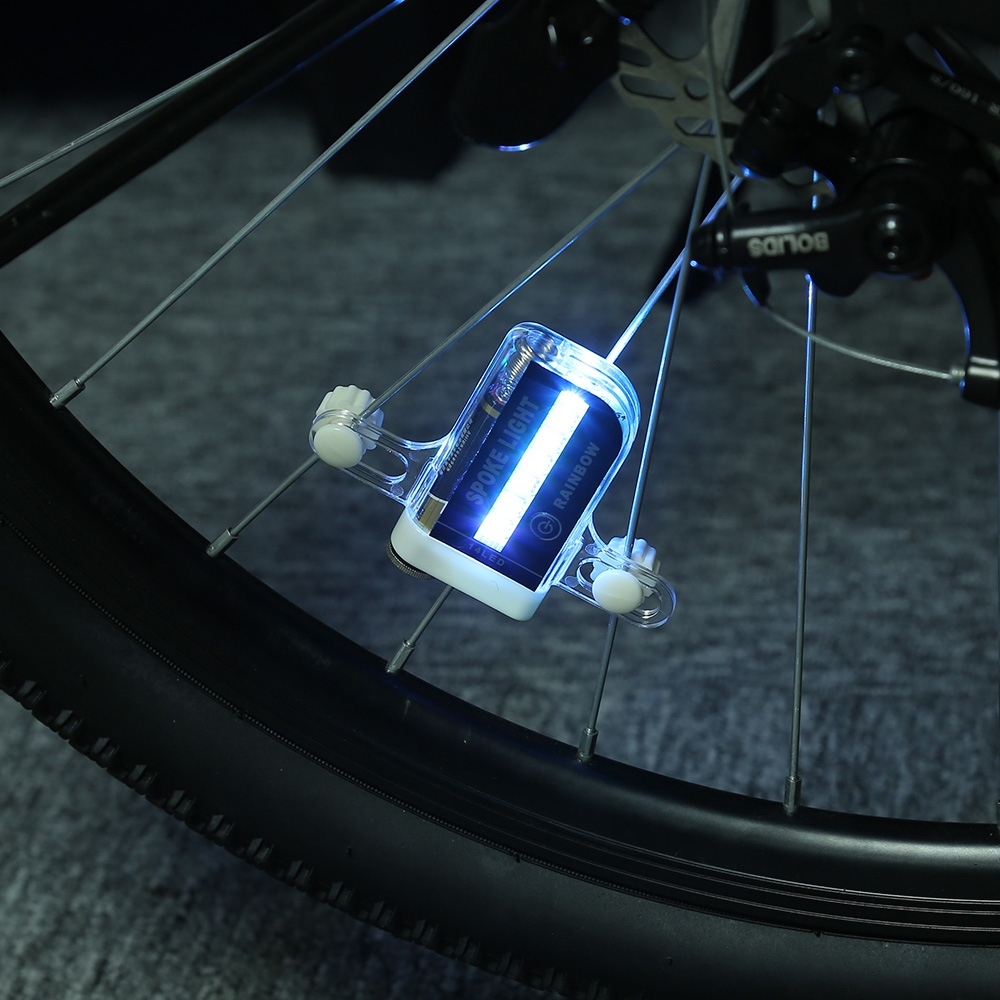 Bike Wheel Lights 14LED Spoke Light for Night Riding 30 Different Patterns