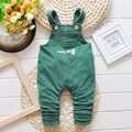 Girls Boy Overalls Pants Clothing  2017 Fsahion New Letter Kids Infant Overalls Bib Boy Children's Baby Pants 1-4Years