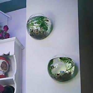 Image 5 - Bahçe malzemeleri ev asılı cam küre vazo çiçek saksısı tencere teraryum konteyner ev bahçe dekorasyonu