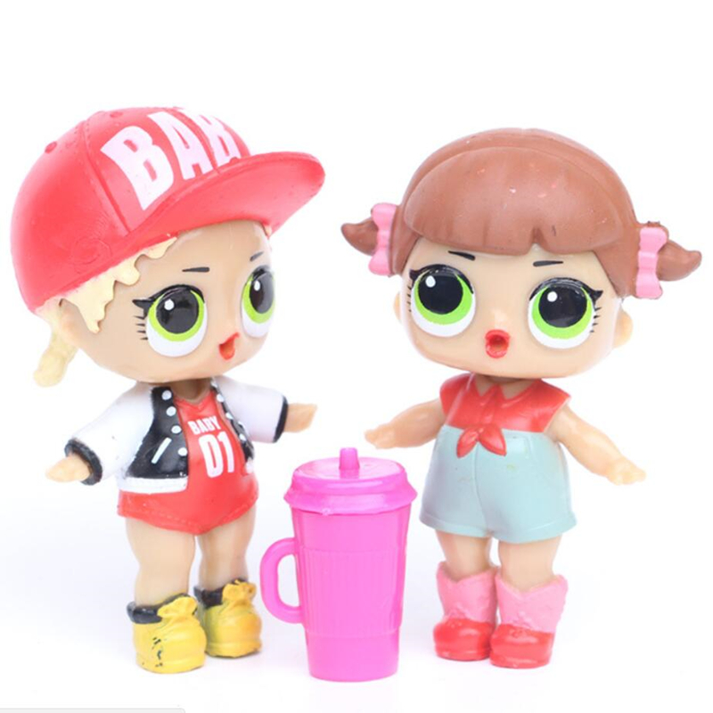6 unids / lote LoL Desembalaje Muñecas de alta calidad Lol Dolls - Muñecas y accesorios - foto 4
