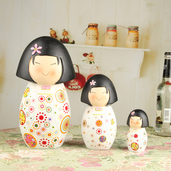 XXXG Home Furnishing jewelry ornaments mounted TV cabinet decorative resin handicraft doll piggy female birthday gift