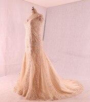 Vestido Noiva Hot Sale Tulle Lace Appliques Court Train Mermaid Women Wedding Vestidos De Novia Sirena
