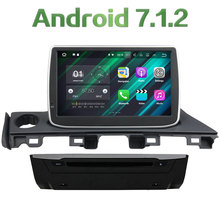 1024*600 2GB RAM 16GB ROM 1 Din Android 7.1.2 Quad core Bluetooth 4G LTE WIFI car multimedia player For Mazda 6 Atenza 2017