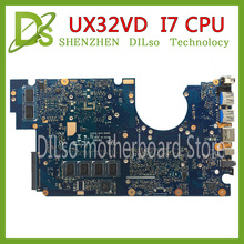 KEFU UX32VD motherboard for ASUS UX32V UX32VD laptop motherboard I7 CPU GT620M 4GB RAM original tested motherboard mainboard