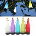 Lámpara Solar Decoración de Vacaciones de Luz A Prueba de agua Botella Brillo Llevó Cuerdas Al Aire Libre Jardín Paisaje Árbol de Hadas de la Lámpara Bombillas