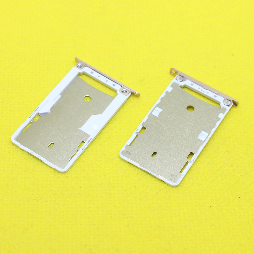 cltgxdd 3 Color For xiaomi hongmi redmi 3 New sim card slot Socket Card Tray Repair Parts ,