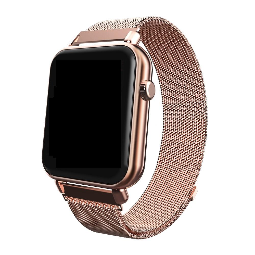 Y6 Pro/ P1 Fitness Tracker Smart Watch Men Women Fashion Smartwatch HR Blood Pressure Heart Rate Music Weather Smart Watches(China)