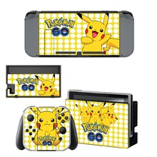 Pokemon Skin Sticker For Nintendo Switch Console and Controller