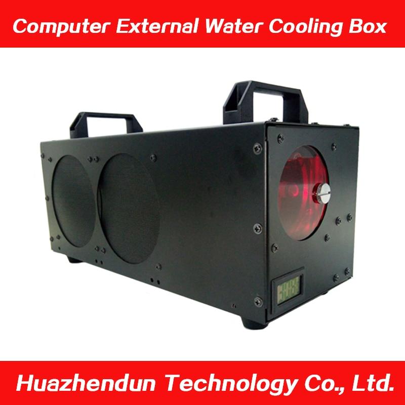 คอมพิวเตอร์ภายนอก cooling กล่องเดสก์ท็อประบายความร้อนด้วยน้ำ cpu กราฟิกการ์ดภายนอกโน้ตบุ๊คหม้อน้ำทำความเย็น-ใน เคสคอมพิวเตอร์ จาก คอมพิวเตอร์และออฟฟิศ บน AliExpress - 11.11_สิบเอ็ด สิบเอ็ดวันคนโสด 1