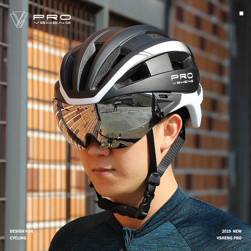 Mountainpeak Mountain Bike Helmet 2019 Male Eyeglass Bicycle Helmet Cycling Helmets