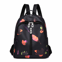 Camouflage Casual Printing Backpack Women Oxford Cloth School Bag For Teenagers Girls Fashion Shoulder Female