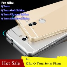Alunminum Metal Frame Acrylic Board Bounding Box for 360 Qiku Q Terra Exclusive Edition Ultimate Geek Cover Case Free Shipping