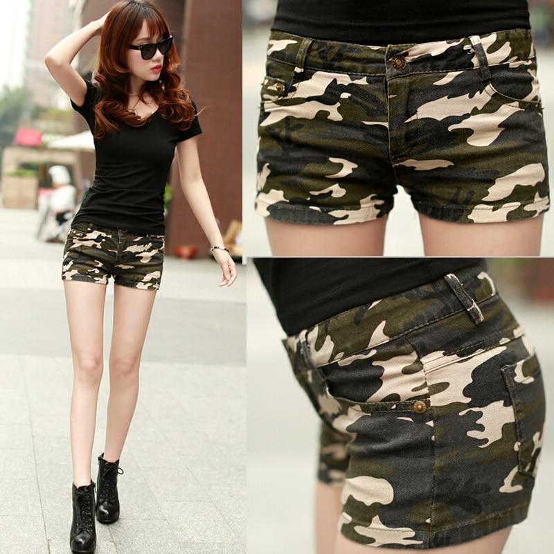 army girl shorts