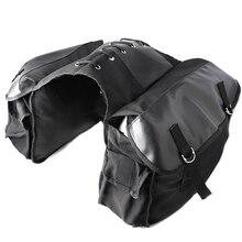 KEMiMOTO Motorcycle saddle Bag Travel Knight Rider Black for Yamaha for BMW for Kawasaki For Harley